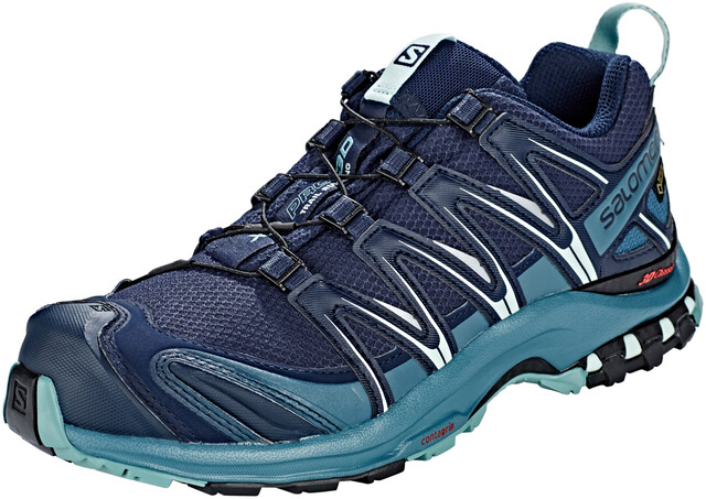 Salomon XA Pro 3D GTX Trailrunning Shoes Damen navy blazermallard bluetrellis